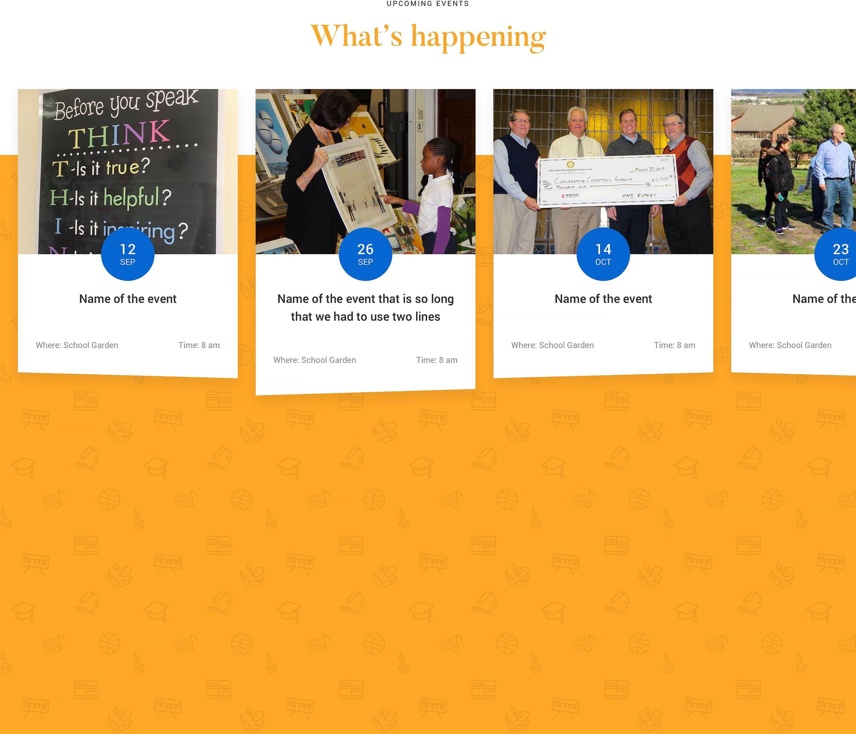 Website UI elements